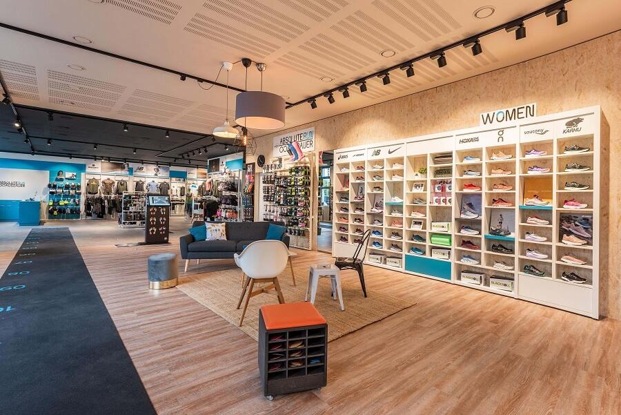 ABSOLUTE Run Store Interior