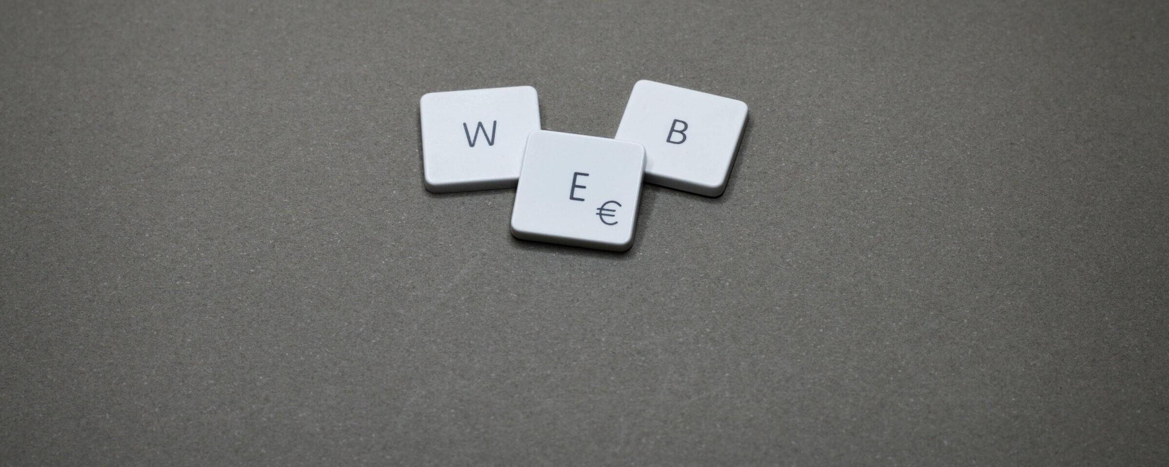 letters: WEB