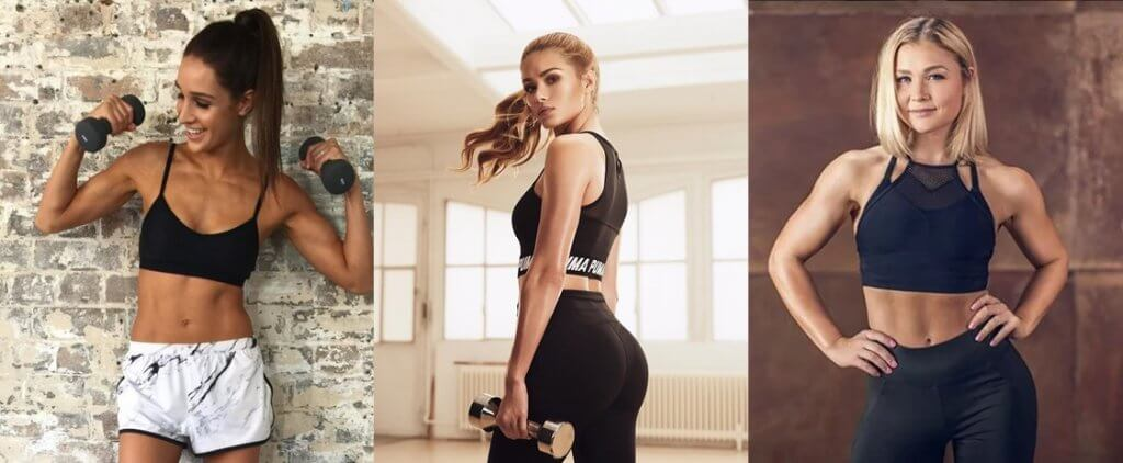 Fitness Influencerinnen